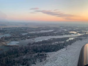 In Pictures: Platte River Ice Jam Update, February 18th 7AM