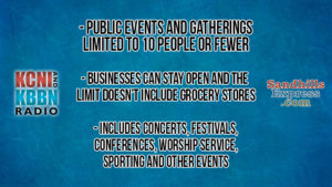 Lincoln Journal Star: Public Events And Gatherings Limited To 10 People Or Fewer Statewide