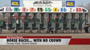 Fonner Park holds races despite empty stands