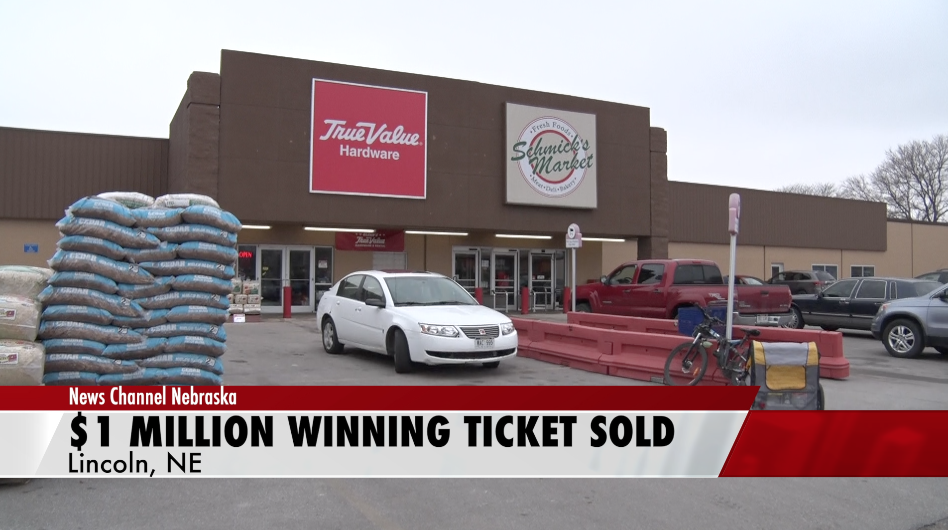 Schmick's Market Sells $1 Million Lottery Ticket