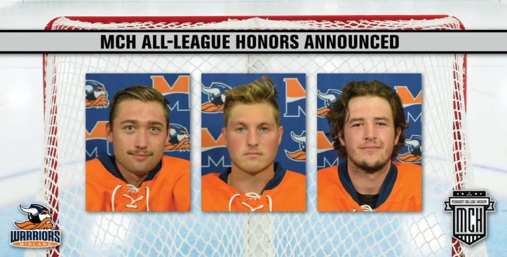 MCH All-League Honors Released; Three Warriors Honored