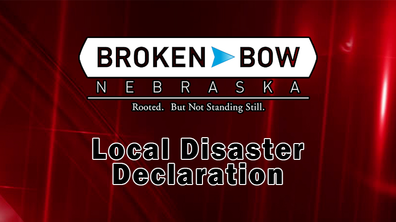 City Of Broken Bow Has Issued A Local Disaster Declaration; No Known Cases Of COVID-19