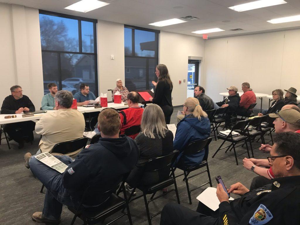 BB City Council Discusses Mental Health, City Administrator, Temporary Bathroom