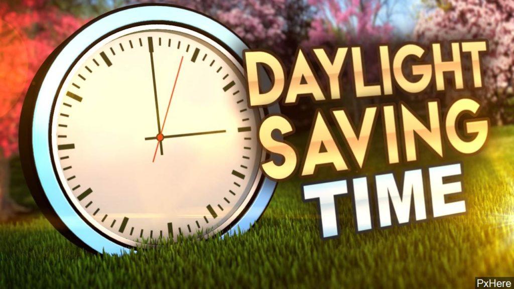 Set Clocks Ahead One Hour Saturday Night, DST Begins March 8