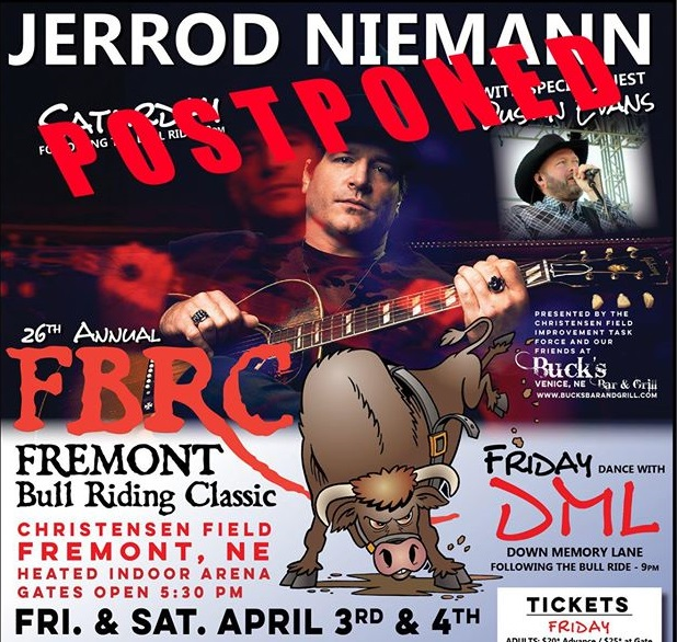 Fremont Bull Riding Classic Postponed Due to Virus Concerns