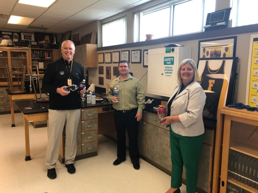 Fremont Public Schools Provides Equipment and Products to Methodist Fremont Health
