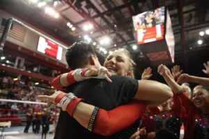 Houchin Named WCGA Regional Gymnast of the Year