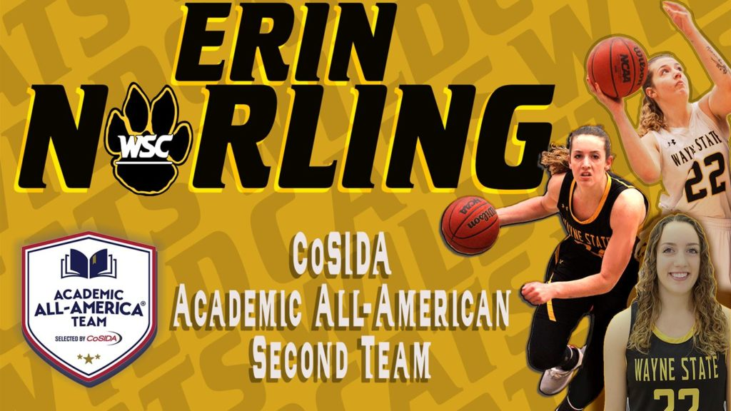 Norling Tabbed Second Team Academic All-American, First In Program History