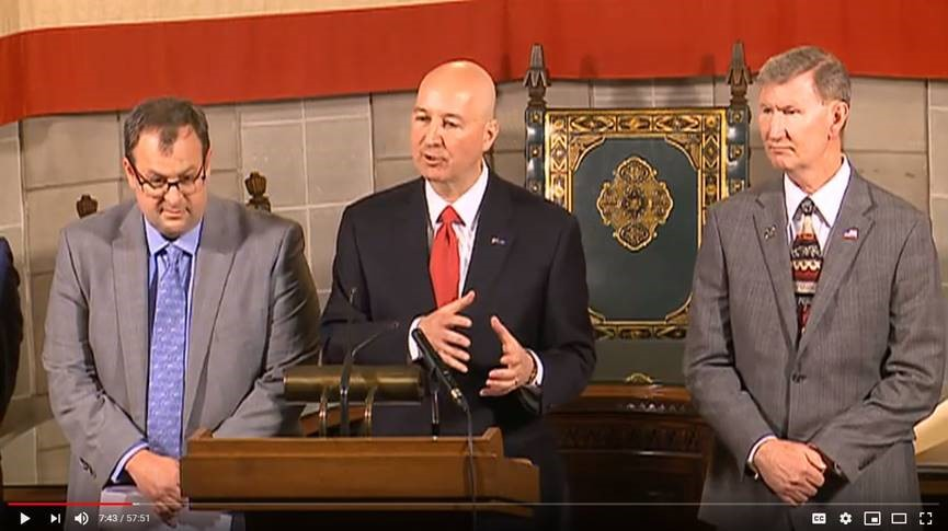 Gov. Ricketts:  Public Boards have the Flexibility to Hold Virtual Meetings