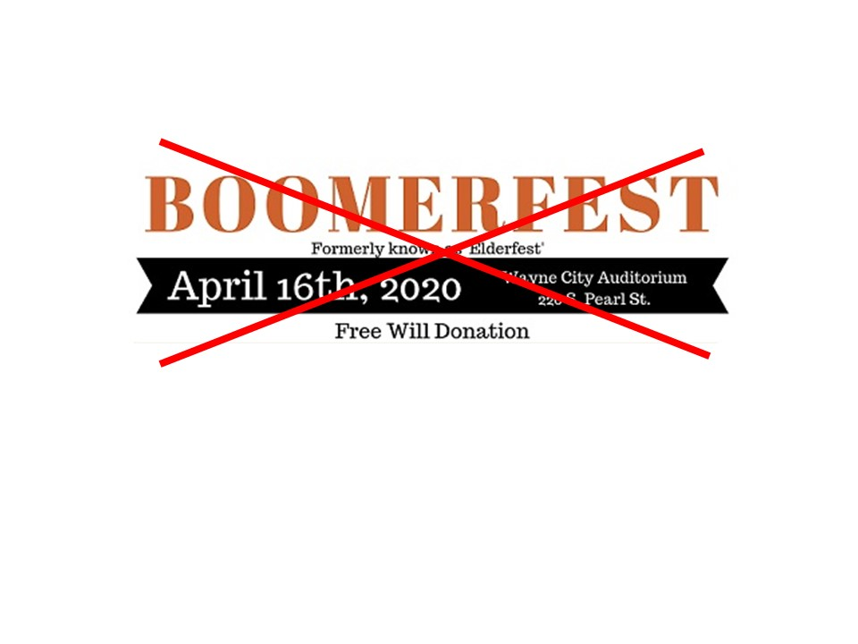 Boomerfest 2020 – CANCELLED