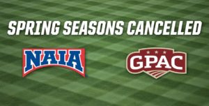 NAIA, GPAC Cancel Spring Seasons