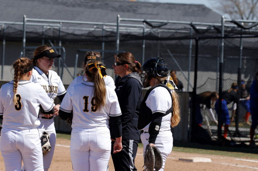 Wildcat Softball Splits Final NTC Spring Games, NSIC Suspends All Competition