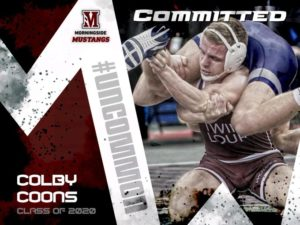 Coons Commits to Wrestle for Morningside College