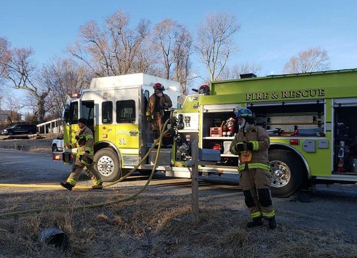 Hooper Fire Department Responds to Friday Morning House Fire