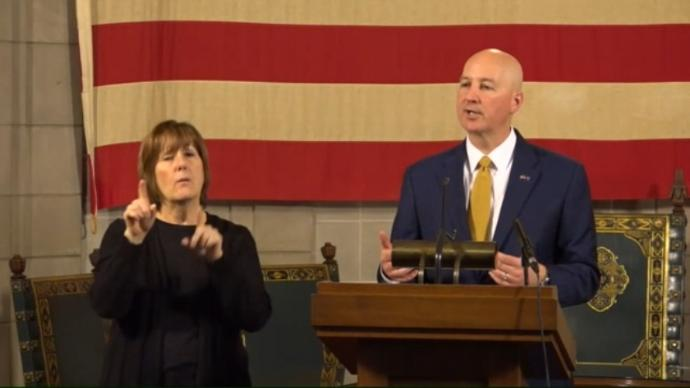 Gov Ricketts Joined by Grocery, Restaurant & Daycare Representatives to Provide COVID-19 Update