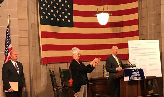 Gov. Ricketts, NDCS Director Frakes Affirm Commitment to Public Safety & Good Health within Corrections System