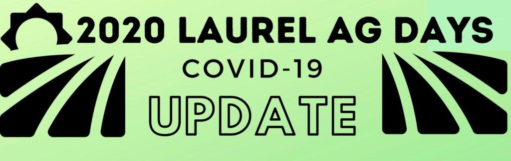 Laurel Ag Days Cancels June Celebration, Plans Being Made For Fall Event