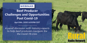 Rural Radio Network Hosting/Airing Webinar For Cattle Producers