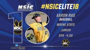 Wildcat Pitcher Recognized With NSIC Elite 18 Award For Baseball