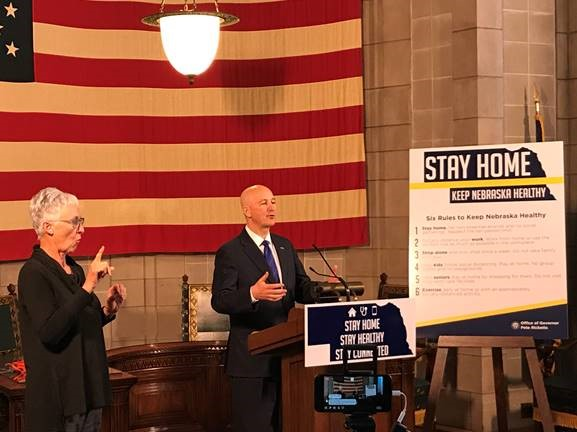 Gov. Ricketts, Behavioral Health Director Encourage Nebraskans to Stay Connected and Prioritize Mental Well-Being