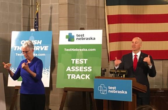 Gov. Ricketts Launches #TestNebraskaChallenge, Rolls Out Plan to Expand COVID-19 Testing