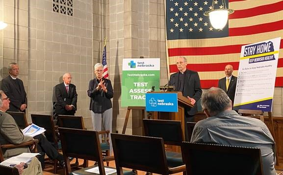 Gov. Ricketts: Unemployment Benefits & Guidance for Places of Worship