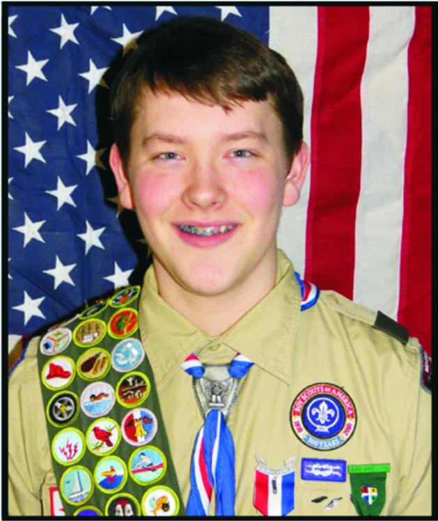 Rural Wayne Resident, James Simpson, Wins Nebraska Eagle-Scout-Of-The-Year Award