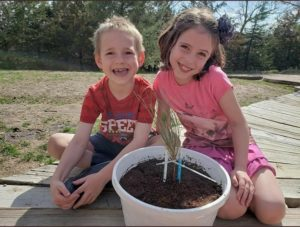 Loup City Students Participate In Statewide Tree-A-Thon During Arbor Day Weekend