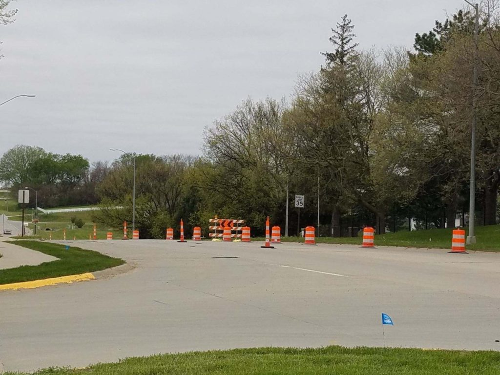 Goal Diverting Traffic During Wayne Trail Phase 2 Project Is To Keep Two Lanes Open, Pedestrian Underpass Being Constructed