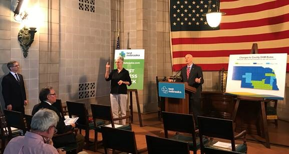 """Gov. Ricketts Reviews Newest Directed Health Measures, Proclaims May as """"Beef Month"""" in Nebraska"""
