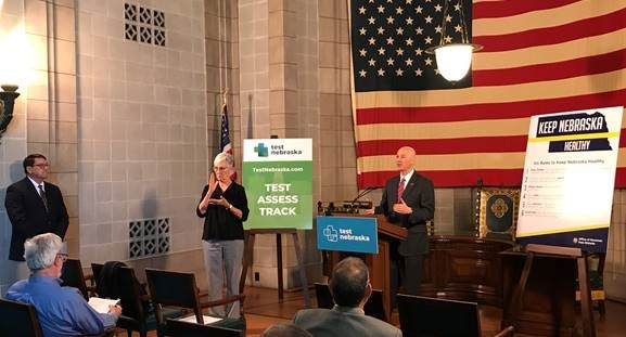 "Gov. Ricketts Announces New COVID-19 Testing Sites, Proclaims ""EMS Week"" in Nebraska"