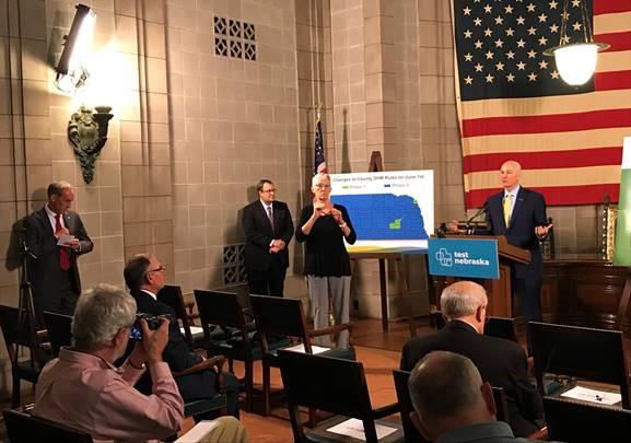 Gov. Ricketts Affirms Stability of Nebraska's Hospital System, Urges Safety over Memorial Day
