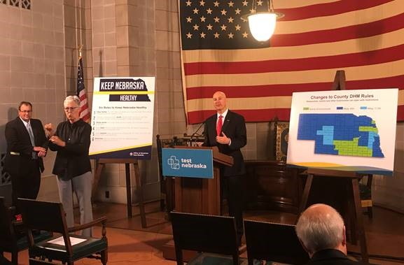 "Gov. Ricketts Announces Test Nebraska Mobile Site in Lincoln, Proclaims ""Teachers Appreciation Week"""