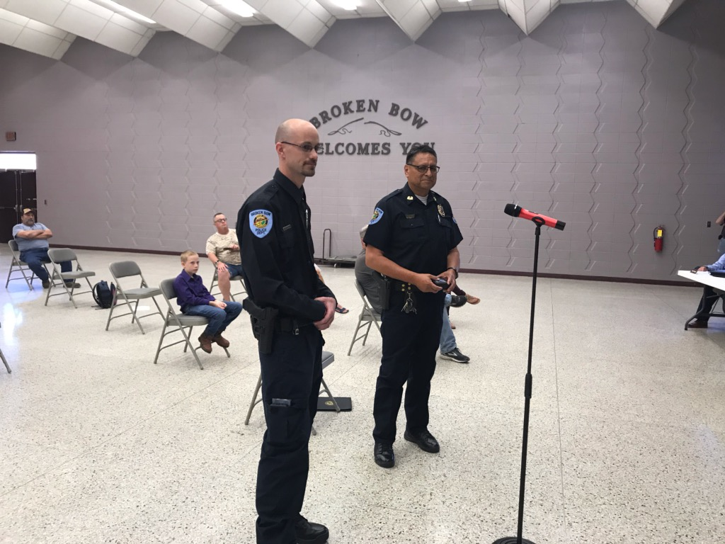Broken Bow Police Officer Shane Fiorelli Promoted to Sergeant