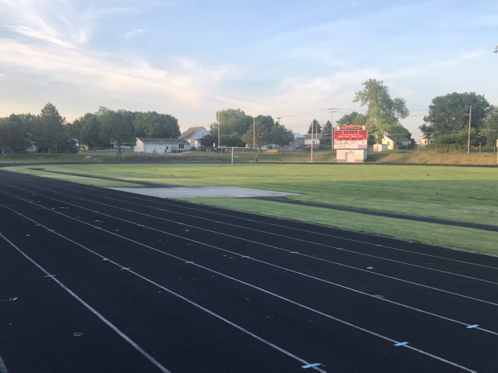 Work on the Track to Begin for Broken Bow Public Schools