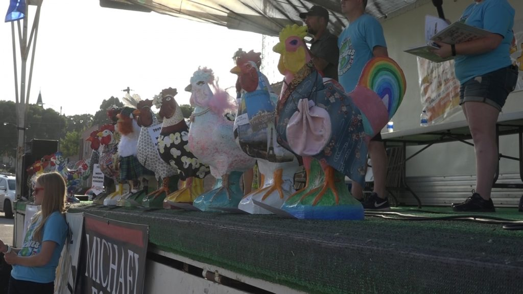Cement Chicken Artists Needed, Money Raised Assists With Next Year's Chicken Show Events