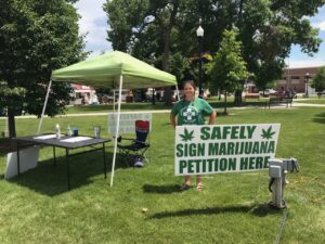 Petition to Put Medical Marijuana on the Nebraska Ballot Circulating in Custer County
