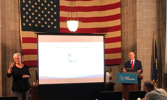 Gov. Ricketts: Cares Act Funds To Support Community Organizations