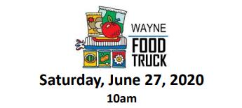 Drive-Up Mobile Food Pantry To Visit Wayne On June 27