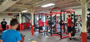 High School Athletes Return to the Weight Room