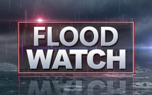 Flood watch in effect Monday evening through Tuesday morning