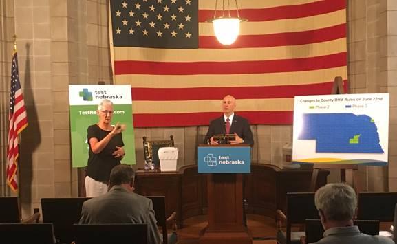 "Ricketts: New Directed Health Measures Effective June 22nd, Proclaims ""Dairy Month"" in Nebraska"