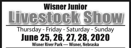 Wisner Junior Livestock Show From June 25-28