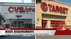 Target & CVS Announce They Will Join Other Retailers In Requiring Masks In Stores