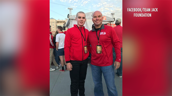 Andy Hoffman, father of Jack Hoffman, announces he has brain tumor