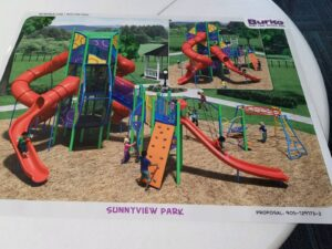 Sunnyview Park To See New Playground Equipment, Sewer Service Line Project Approved
