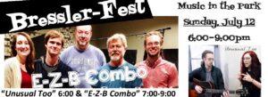 Fourth Annual Bressler Fest Scheduled For This Sunday, July 12, At Bressler Park