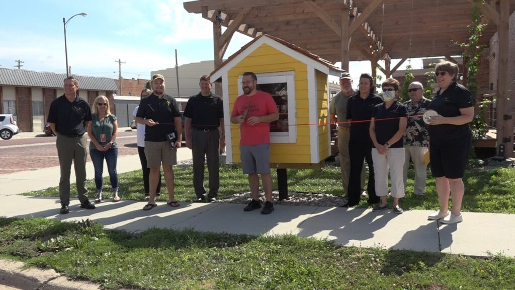 'Byrd' House Food Pantry Showcased During Chamber Coffee