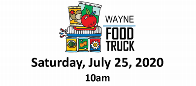 Drive-Up Mobile Food Pantry To Visit Wayne Saturday, Free Community Packs And Fresh Produce Boxes Offered