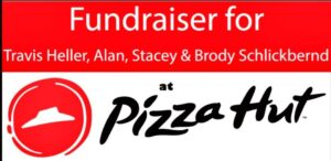 Pizza Hut Fundraiser To Assistant With Medical Expenses from Car Accident